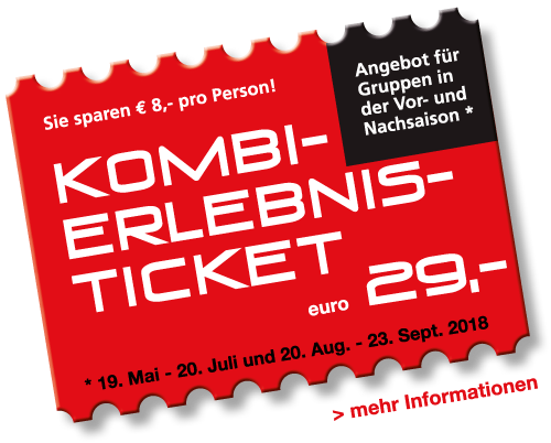 Kombi-Erlebnis-Ticket